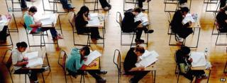 Exam in progress (file pic)