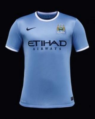 Manchester City's new Nike kit