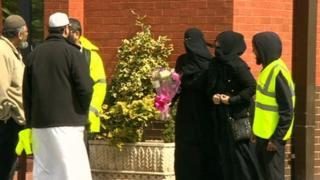 Baby Alia funeral