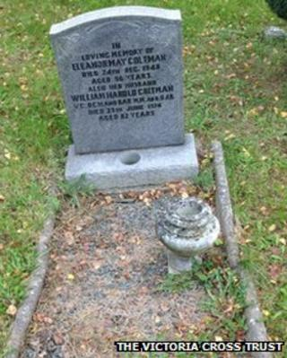 The grave of William Coltman