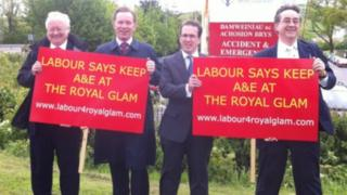 Leighton Andrews, Chris Bryant, Owen Smith and Mick Antoniw launch their defence of the Royal Glamorgan