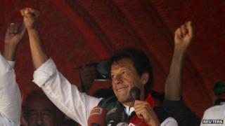 Imran Khan in May 2013