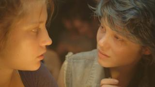 Adele Exarchopoulos and Lea Seydoux in Blue is the Warmest Colour
