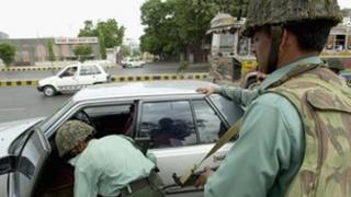 Karachi security - file photo from 2002