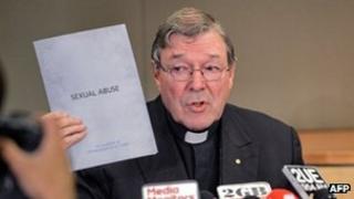 File photo: Australian Cardinal George Pell