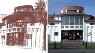 The Picture House in 1913 and in 2013