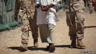 Inmate at Guantanamo