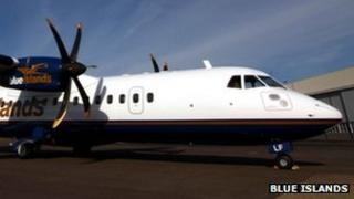Blue Islands ATR aircraft