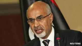 Head of the national Libyan assembly Magarief