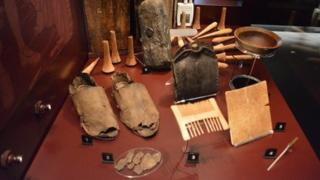 The purser's belongings