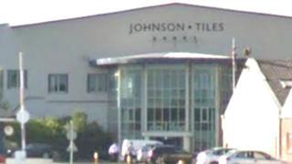 Johnson Tiles factory