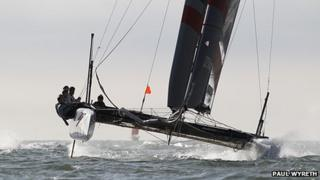 Sir Ben Ainslie on JP Morgan BAR