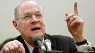 Supreme Court Justice Anthony Kennedy speaking