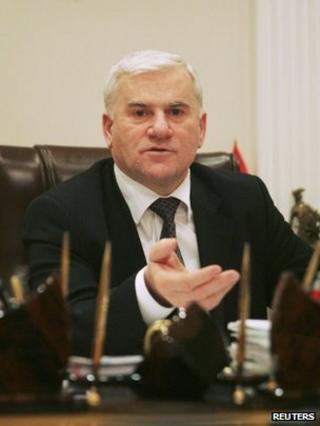 Said Amirov, mayor of Makhachkala, in photo taken in 2010