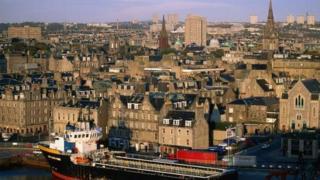 Aberdeen, granite city