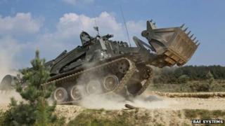 Terrier combat vehicle