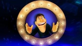 Dougie Colon, host of That Puppet Game Show