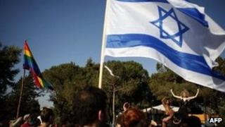 Israeli gay parade (file photo)