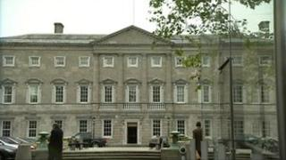 Leinster House in Dublin