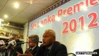 The launch of the 2012 Sri Lanka Premier League