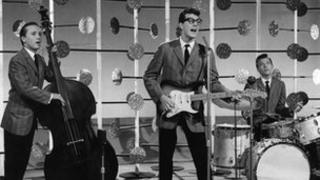 Buddy Holly and The Crickets in Off The Record from 1958