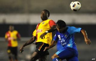 A foreign footballer who plays for India's East Bengal Club