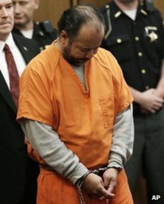 Ariel Castro during his arraignment in Cleveland, Ohio, on 12 June 2013