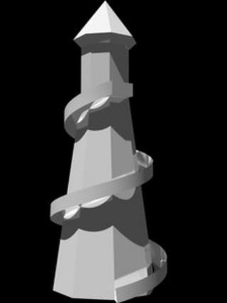 3D image of Helter Skelter artwork