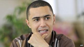 Tunisian rapper Ala Yaacoubi (13 June 2013)