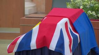 Coffin of Coldstream Guard laid to rest after more than 200 years