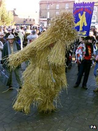 Whittlesey Straw Bear Festival