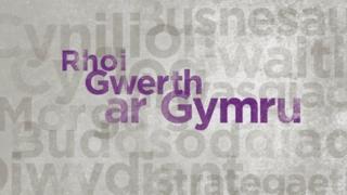 Rhoi Gwerth ar Gymru