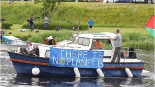 boat protest