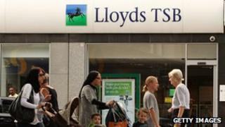 Lloyds TSB branch