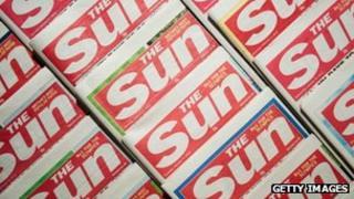 The Sun newspaper