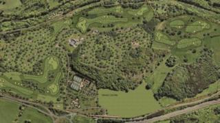 Aerial view of Park of Keir site