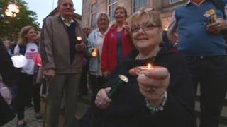 Stafford Hospital candlelit vigil