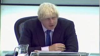 Mayor of London Boris Johnson