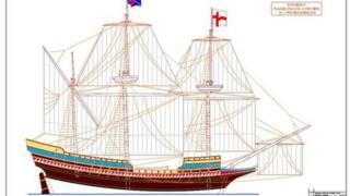 Mayflower replica plan