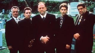 (l-r) Steve Van Zandt, James Gandolfini, Michael Imperioli and Tony Sirico