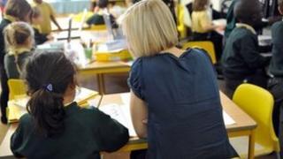 generic pupils in classroom