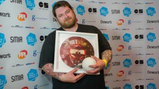 RM Hubbert won the Scottish album of the year award