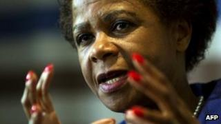 Mamphela Ramphele in Johannesburg. 6 June 2013