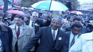 Mandela in George Square
