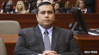 George Zimmerman in court in Sanford, Florida on 24 June 2013