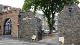 Guernsey Police station in St Peter Port