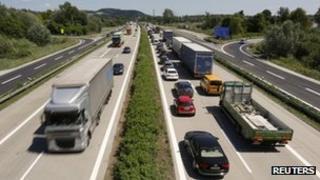 A German autobahn