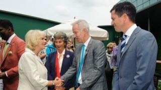 Camilla at Wimbledon