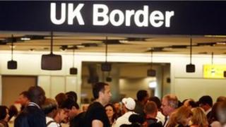 Heathrow border control