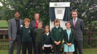 Official opening of flood scheme